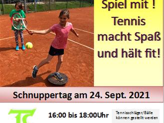 Schnuppertag   24.09.2021
