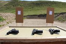 Hangun Class at Gun Range