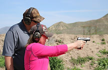Women Handgun Instruction