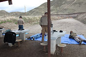 AR 15 class at the gun range
