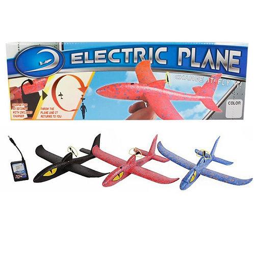 PVC Flugzeug mit Motor ass.