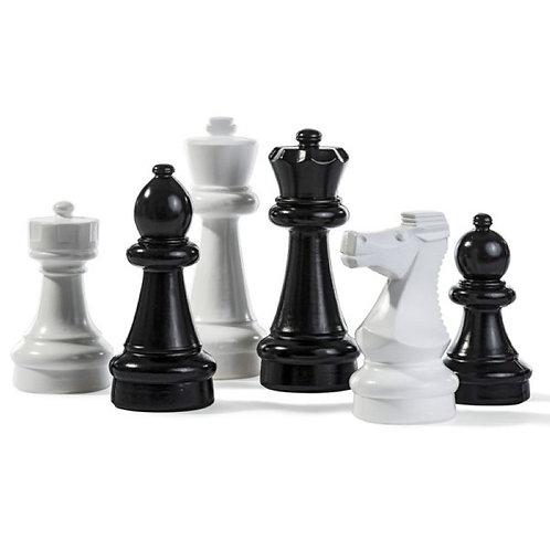 Kleine Schachfiguren 20-30 cm