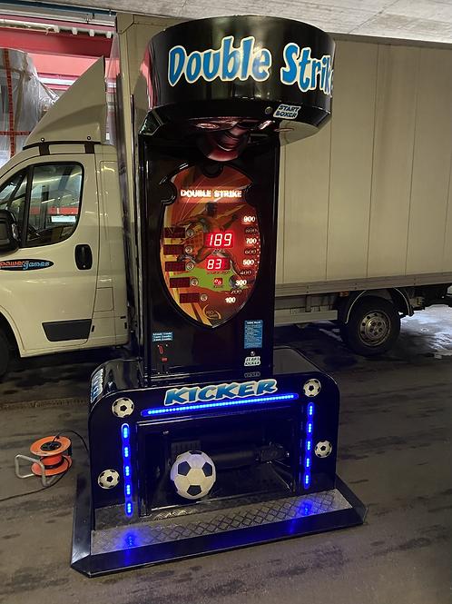 Fussball und Boxautomat