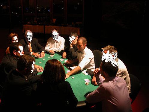 Poker Texas Holdem sitzend