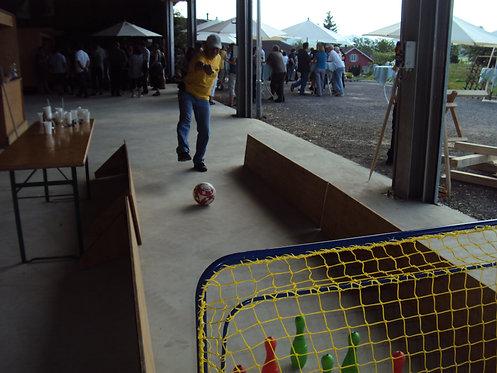 Fussball Kegeln