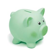 Green Piggy Bank.tif