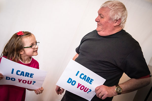 Photograph of two carers
