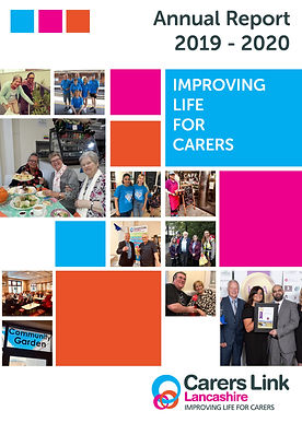 Carers Link Lancashire Annual Report Cov