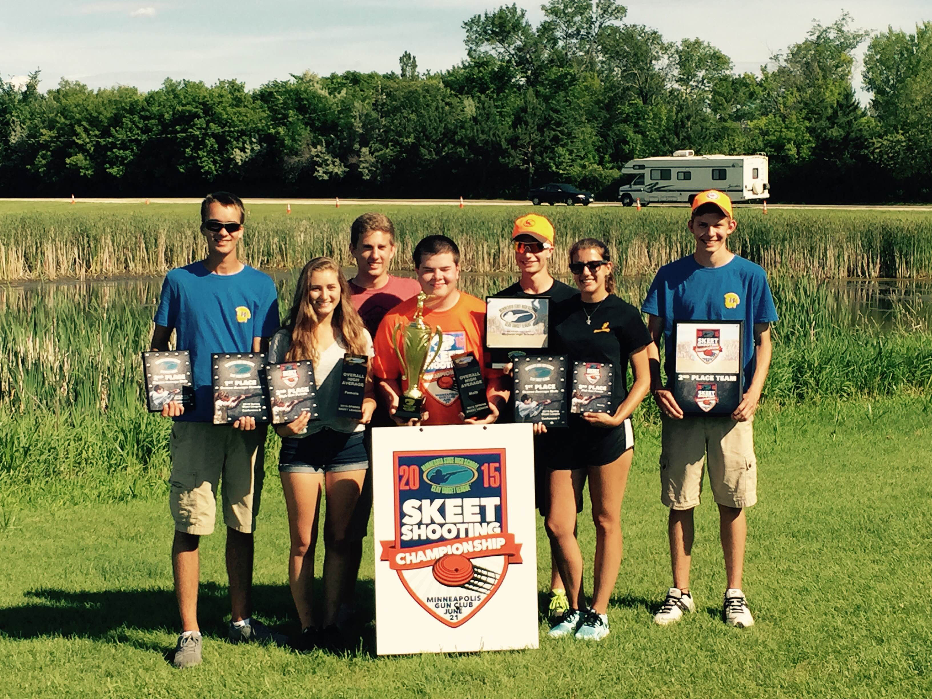 State HS skeet champs 2015