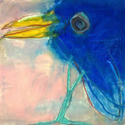 Vögel sind blau