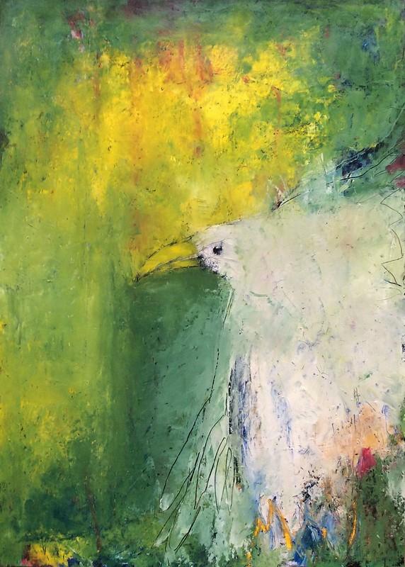 weisser Vogel