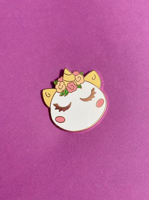 Unicorn Macaron Enamel Pin
