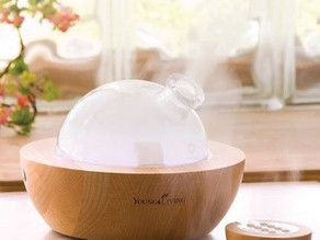 Diffusing Essential Oils for Respiratory Support
