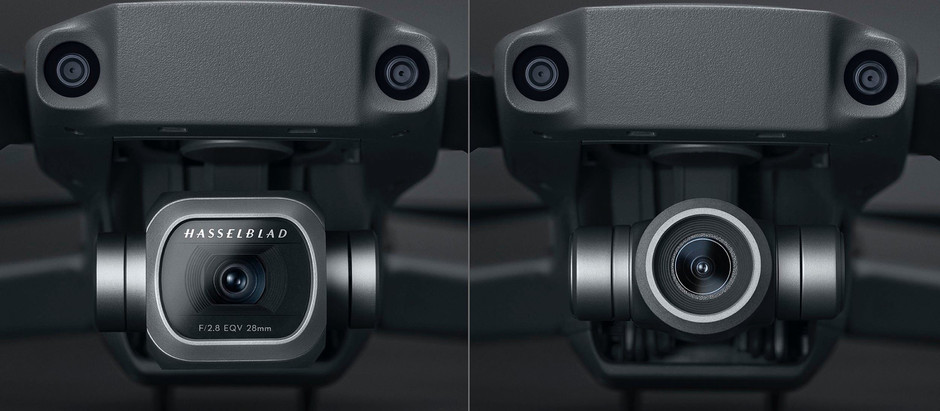 First hi-res photos of the DJI Mavic 2 Pro and Zoom models