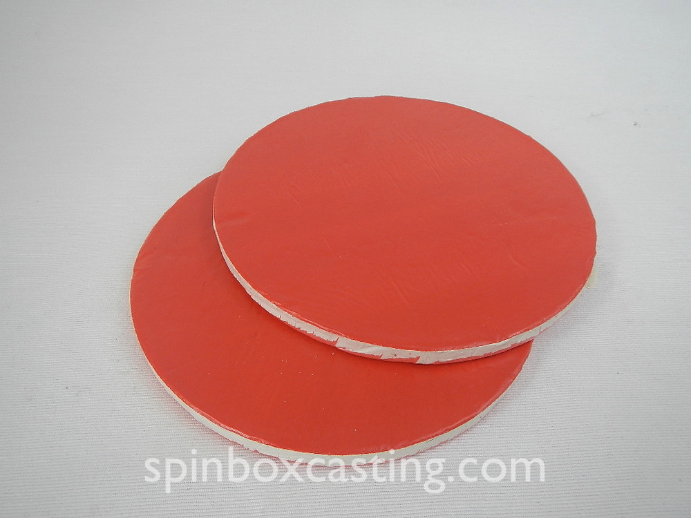 Pair of Silicone Mould Halves