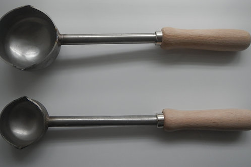 Premier Stainless Steel Ladle with Wooden Handle