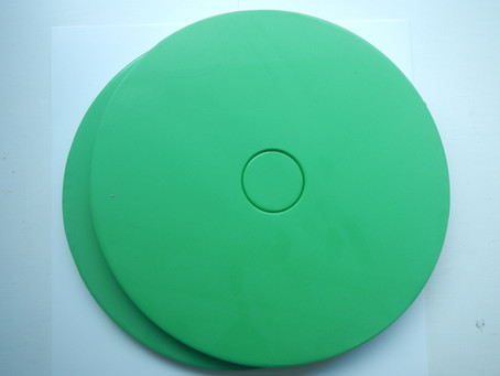 New Easy to Use Silicone Production & Master Mould Discs.