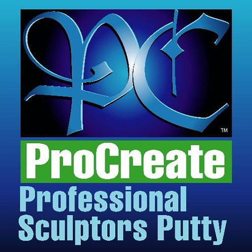 ProCreate Professional Sculpters Putty 70g Tube