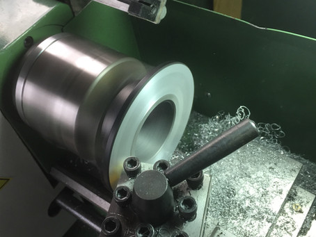 Making parts for the spinbox on the lathe today.