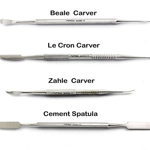Set of 4 High Quality Sculpting Tools Carvers Stainless Steel