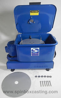 Spinbox casting machine