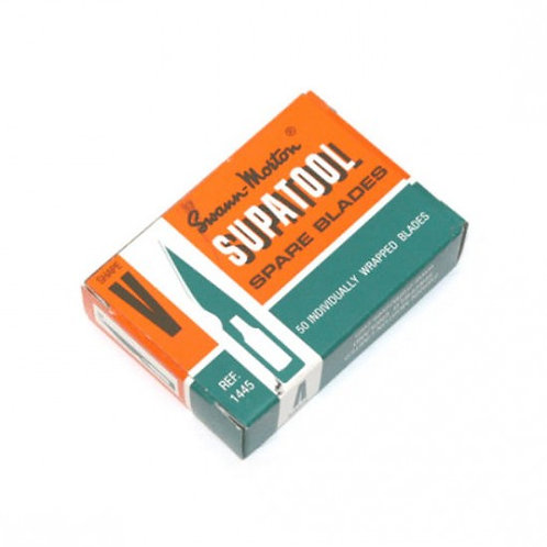 Swann Morton Supatool Blades Box of 50 for Supatool Handle