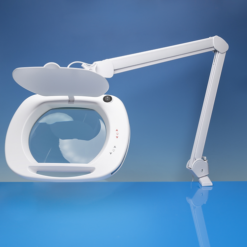 Lightcraft LED Daylight Wide Lens Magnifier Lamp with Multiple Light Settings