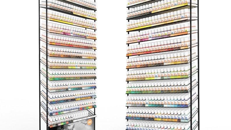 AK Interactive 3rd Generation Acrylic Paints 17ml Standard Orange Label Vol I