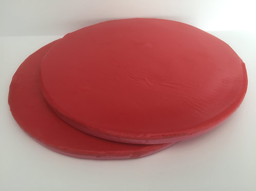 Casting Discs 9 inch Pink Silicone General Purpose