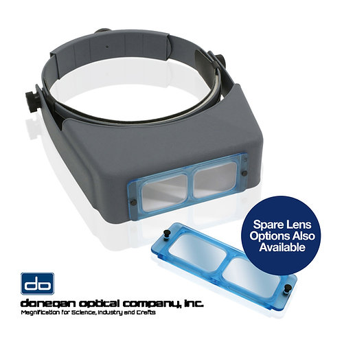 Original Donegan Optivisor Headband Magnifier
