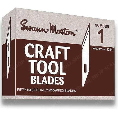 Swann Morton Craft Blades Box of 50 for Craft Handle