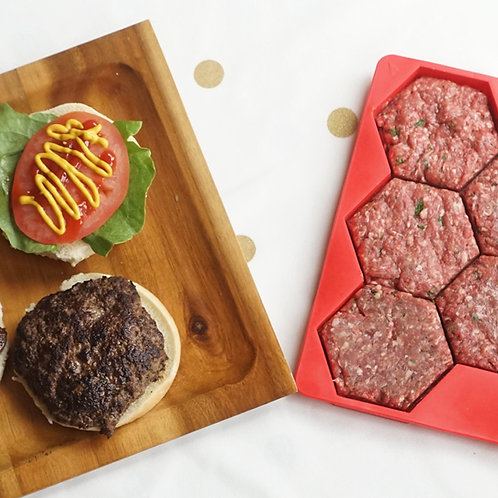 Silicone Burger Mould
