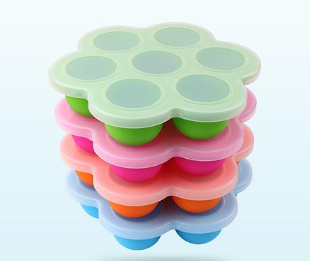 Silicone freezer pods