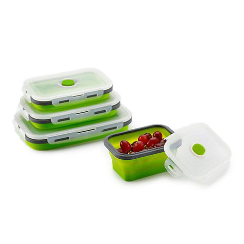 Collapsible Food Container 4xPack