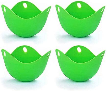 Set of 4 Silicone Egg Poachers