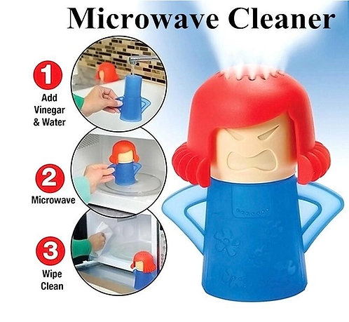 The Angry Moma - Microwave Steam Cleaner