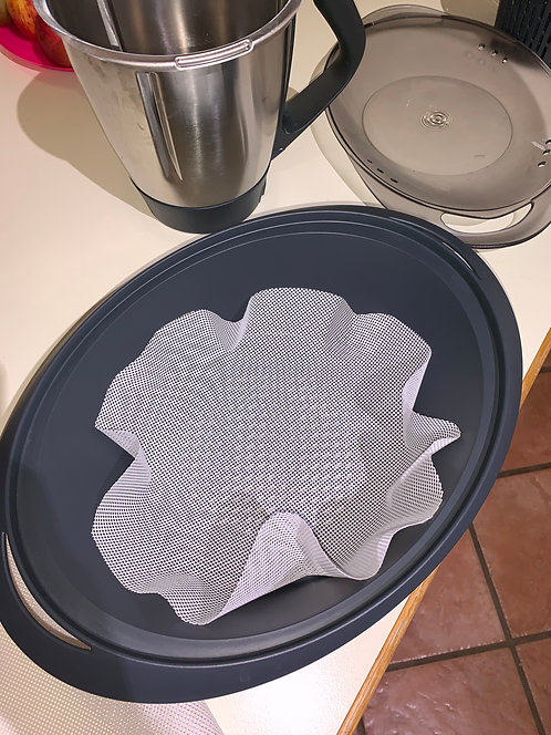 Silicone Mesh Mat For Steamers/Thermys/Air Fryers