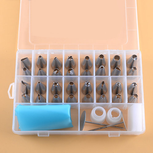 38 Piece Cake Decorating Piping Set