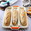 Thumbnail: SIlicone Baguette Baking Tray