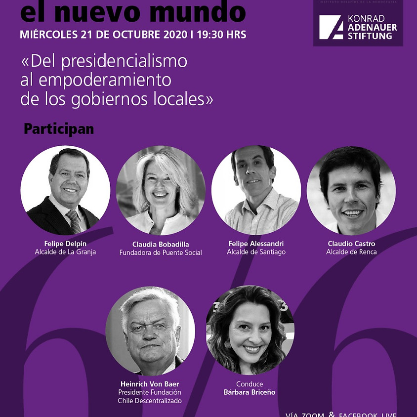 """Webinar 6 IDD """"Del presidencialismo al empoderamiento de los gobiernos locales"""""""