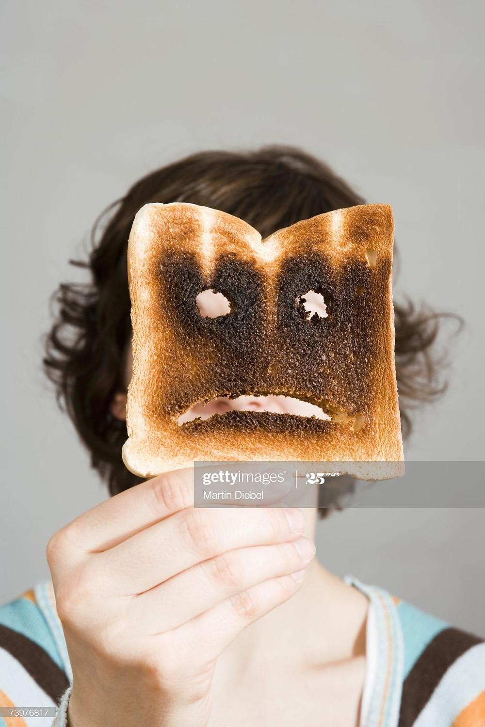 burned bread pal toast