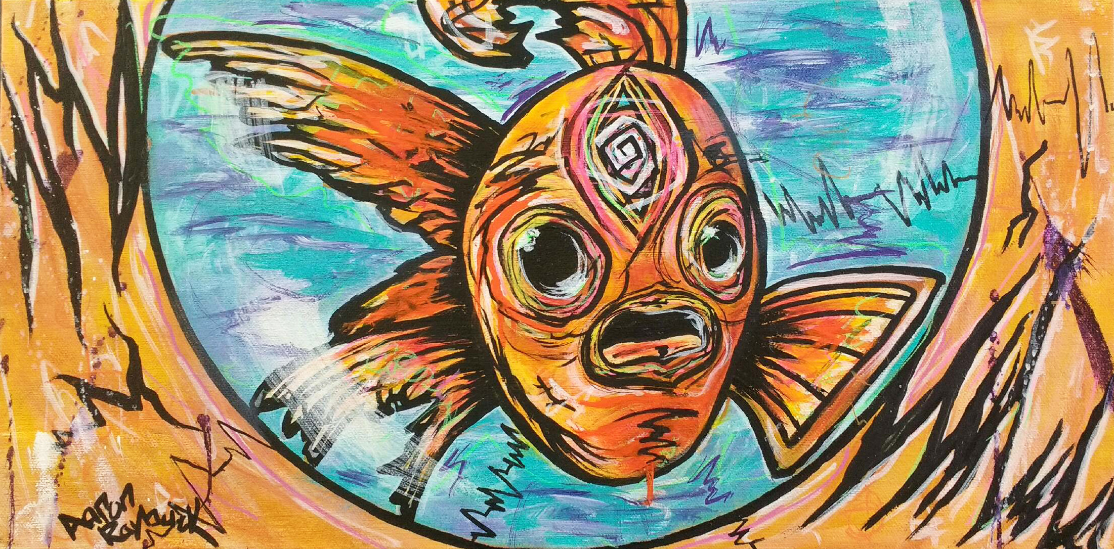 """birth of a fish"""