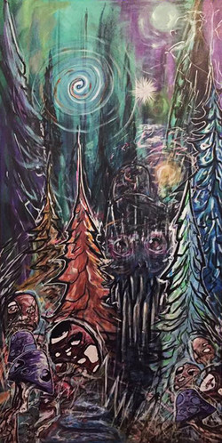 """midnight forest"""
