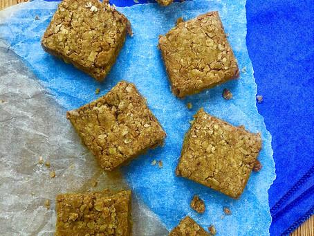 Peanut oat squares