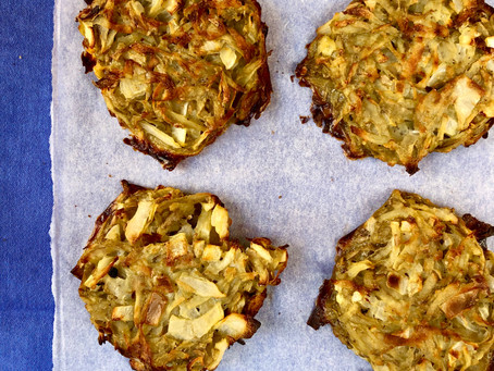 Baked hash browns