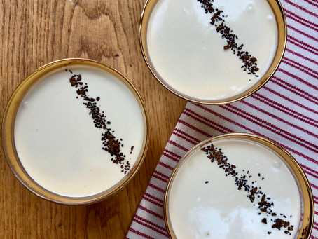 Instant coffee mousse