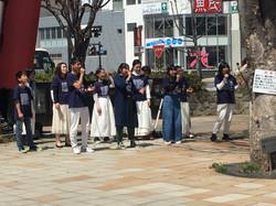 上田駅前路上ライブ
