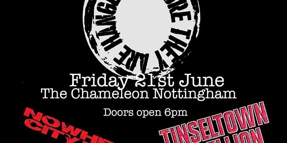 BEFORE THEY ARE HANGED // TINSELTOWN REBELLION // NOWHERE CITY RIOT