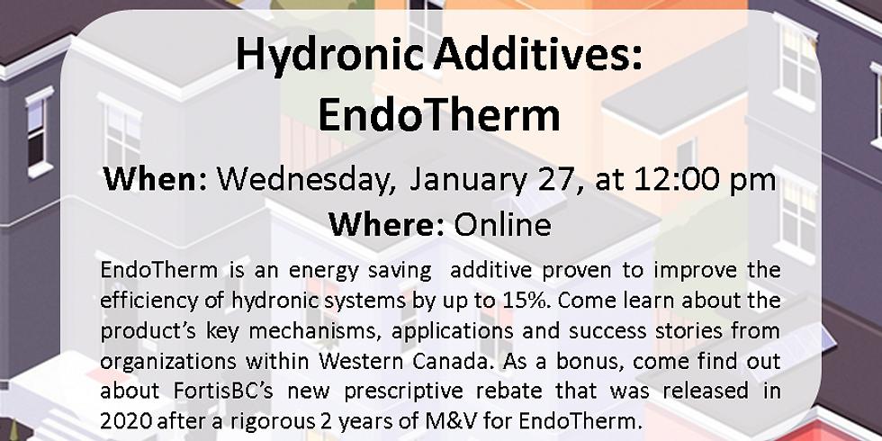 Hydronic Additives Webinar