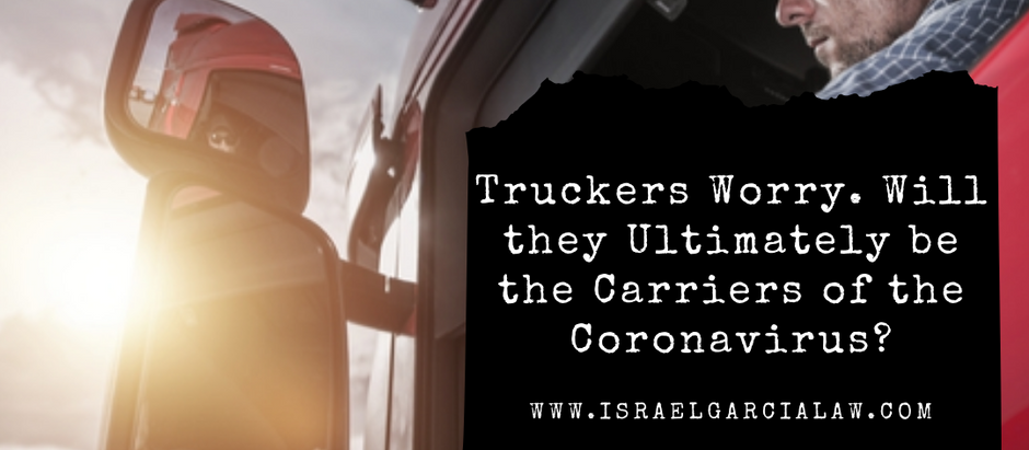 Truckers Worry. Will They Ultimately Be the Carriers of the Coronavirus?